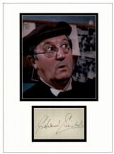 Edward Sinclair Autograph Signed Display - Dad's Army